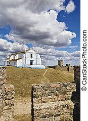 iglesia, castillo