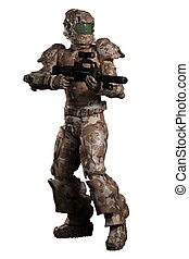Space Marine Trooper in Camouflage