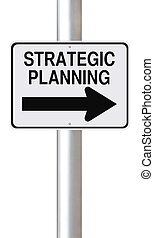 Strategic Planning - A modified one way street sign...