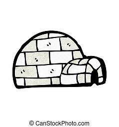 cartoon igloo