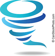 Wind icon - Vector illustration of Wind icon
