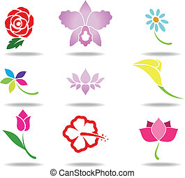 Flower icon - Vector illustration of Flower icon