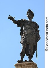 Augustus - Sculpture of Augustus in Augsburg at the Augustus...