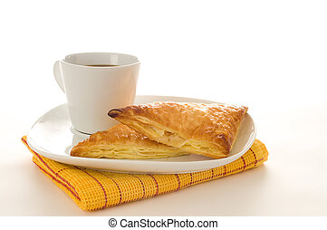 Apple Turnovers - Fresh baked apple turnovers served with...