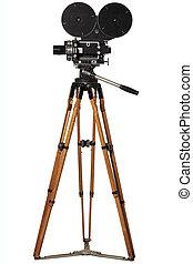 Cinema, 35mm Camera, Camera, Arts, Antique, Advancing...