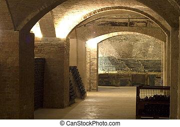 Cellar - Old cellar, dedicated tyo the aging of bottles of...