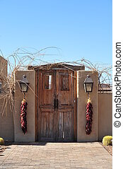 Adobe Home in New Mexico