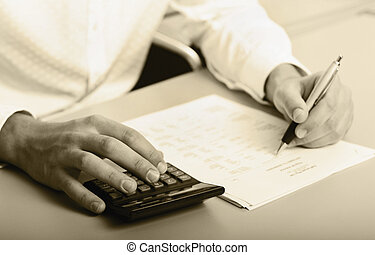 Economic Usage Image - Counting the costs, can either be...