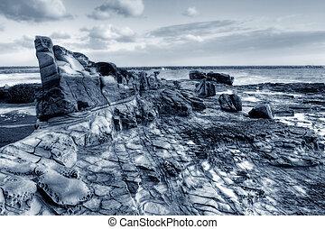 rocoso, Océano, Puesto de vigilancia