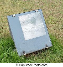 Spotlight on the field