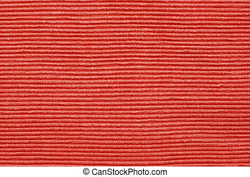 Deep relief cotton - Red deep relief cotton fabric