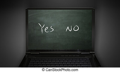 questionnaire yes and no