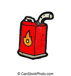 cartoon gas can