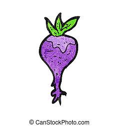 cartoon beet