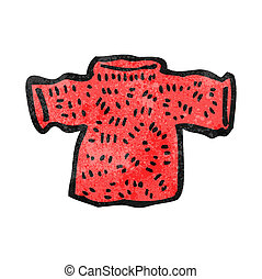 cartoon woolen jumper