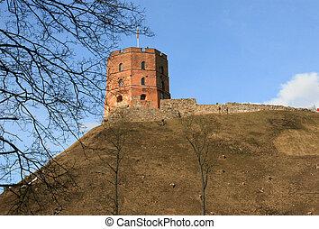 Gediminas Castle in Vilnius - Remaining Gediminas Tower of...