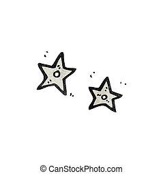 cartoon ninja stars