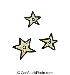 cartoon ninja stars