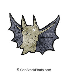 cartoon vampire bat