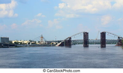 Dnipro bridges