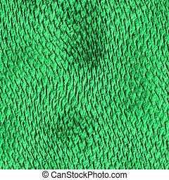 a large image of green shiny dragon