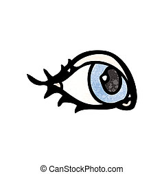cartoon eyeball