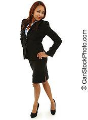 Beautiful Black Business Woman
