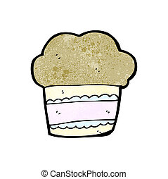 cartoon muffin