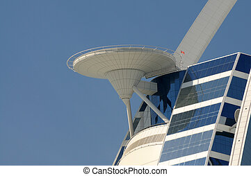 Helipad of the Burj Al Arab Building in Dubai