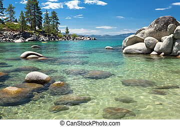 Lake Tahoe beach