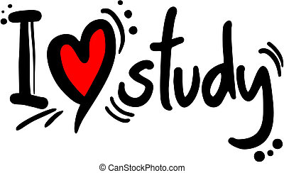 Study love - Creative design of study love