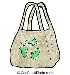 reusable bag cartoon