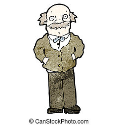 cartoon grandfather