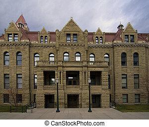 Old city hall, Calgary. - Old city hall, Calgary Alberta.