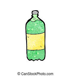 cartoon fizzy drink