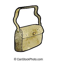 cartoon satchel
