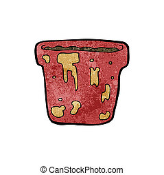 cartoon flowerpot