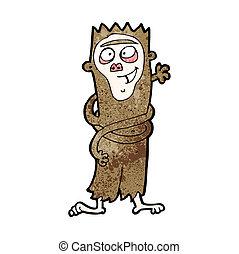 cartoon funny monkey
