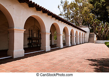 Arches at Presidio Park - Arches at the museum at Presidio...