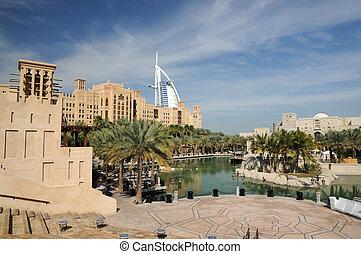 Madinat Jumeirah in Dubai, United Arab Emirates