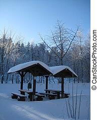 野餐, 冬天