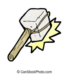 cartoon mallet hitting
