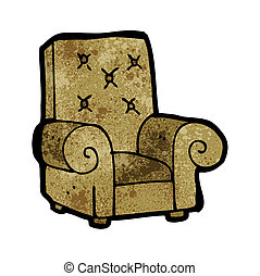 cartoon leather chair