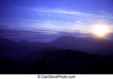 Krafla sunset Iceland