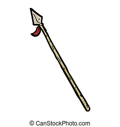 cartoon spear