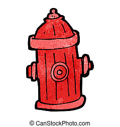 cartoon fire hydrant