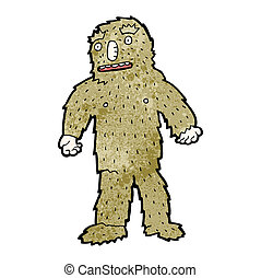 cartoon bigfoot