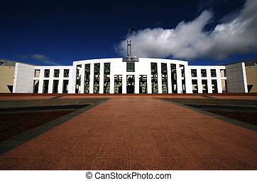 Parliament House, Australia - Parliament House in Canberra,...
