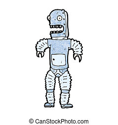 cartoon robot