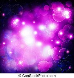 purple festive bokeh background